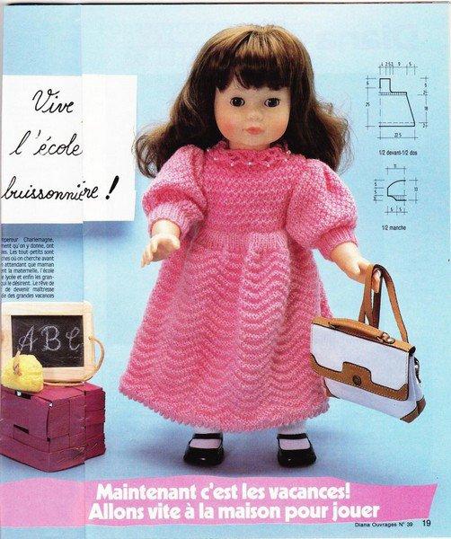 tuto robe rose pour poupée
