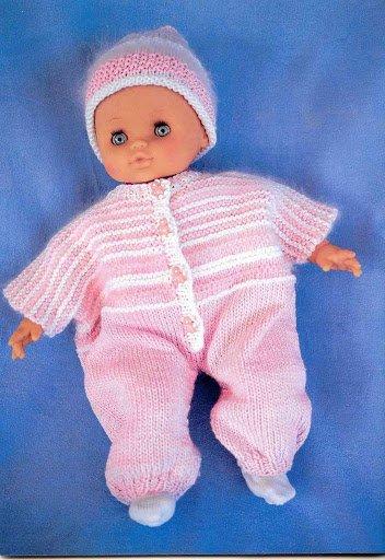 tuto tricot: modèle Andréa   un overoll