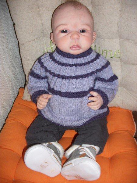 brassière tricot.