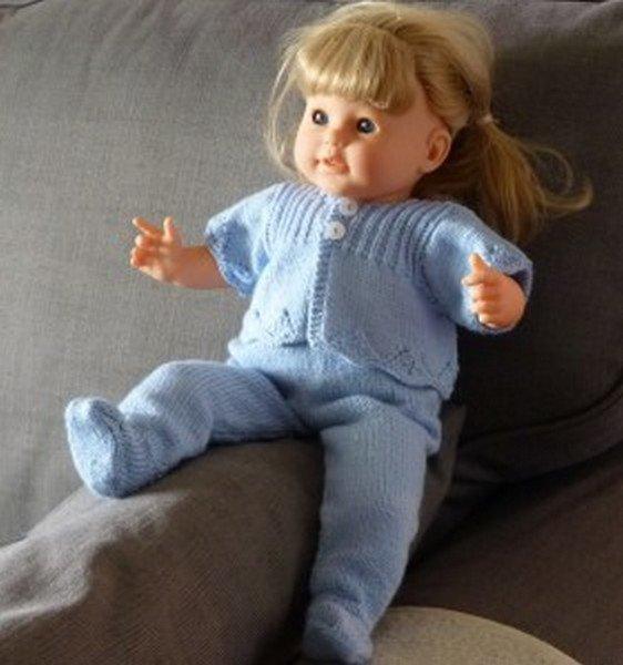 des tutos tricot pour poupée.