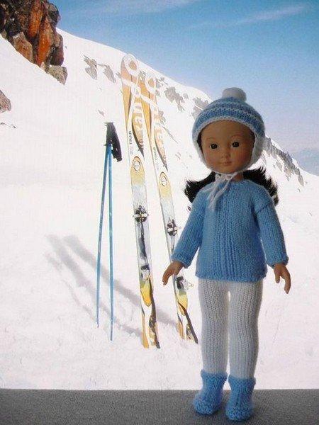 tuto tricot : ensemble pour le ski.