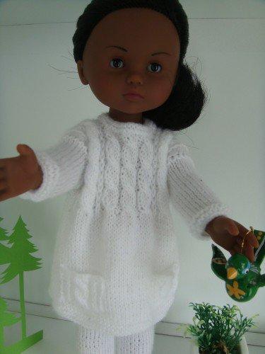tuto tricot : pull tunique.