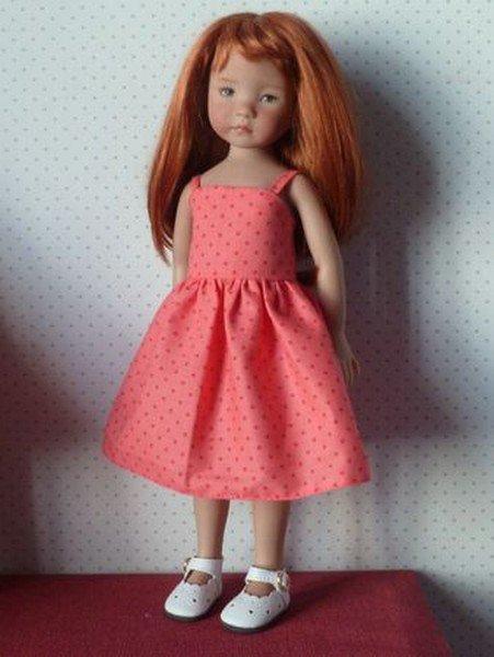 tuto couture: une robe pour poupée.