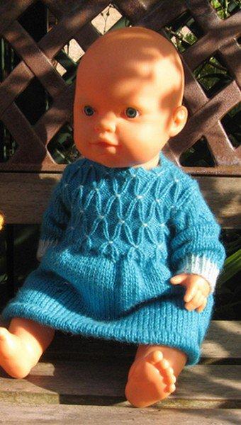 tuto tricot : ensemble et robe.