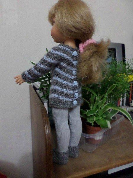 tuto tricot : tunique pour paola.