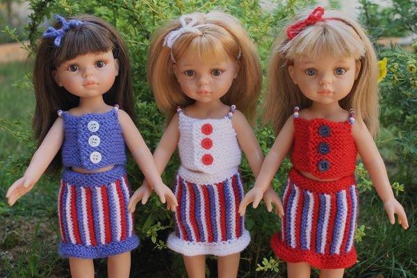tuto tricot : pour poupée paola.