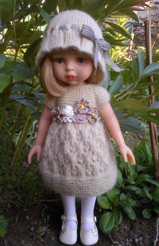 tuto tricot : robe pour paola reina.