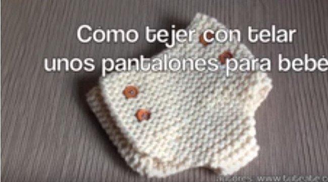 une couche au tricotin