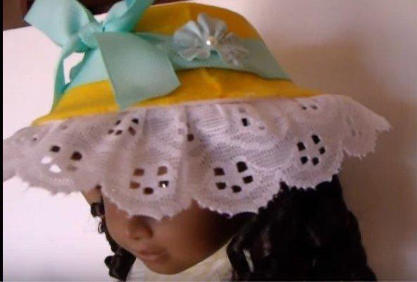 tuto : faire un bonnet pour poupée