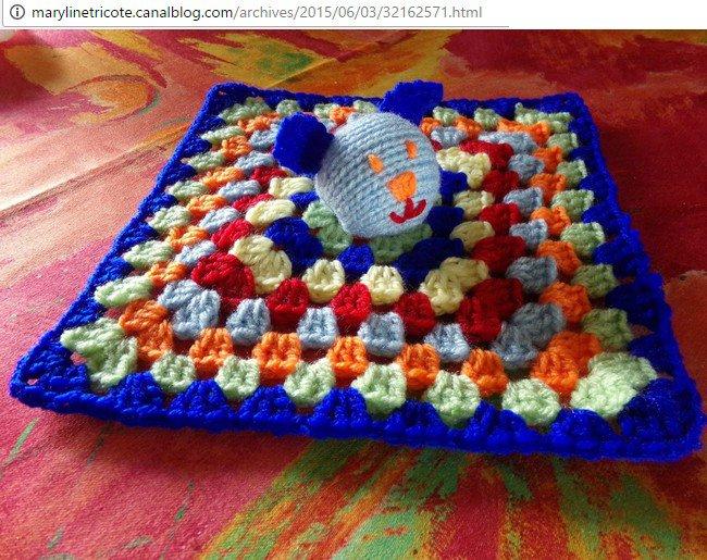 tuto crochet et tricot : un doudou