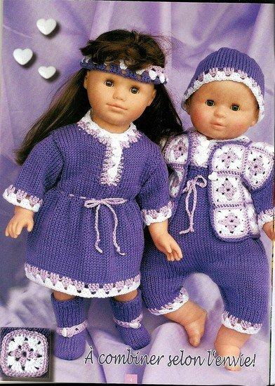 tuto tricot et crochet : robe, combinaison et gilet.