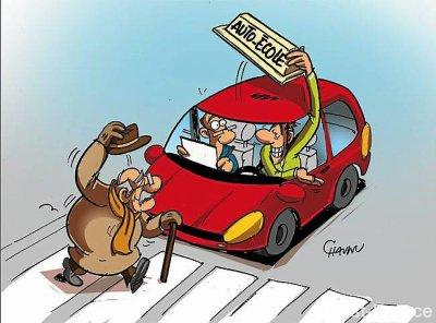 La courtoisie et l'éco-conduite valent 2 points à l'examen du permis de conduire