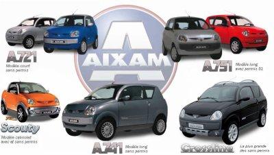 Leader des voitures sans permis : AIXAM