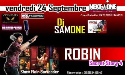 Robin au Next One