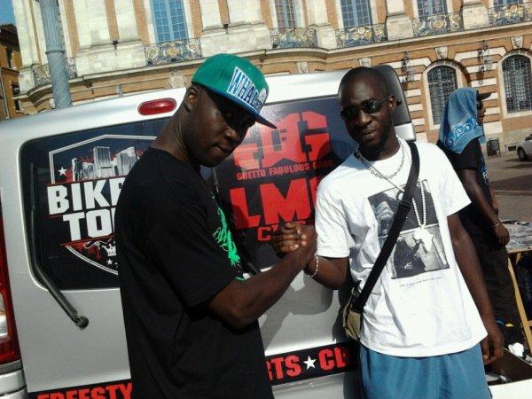 MOI ET JUICY P (LMC CLICK) BIKRAV TOUR 2012