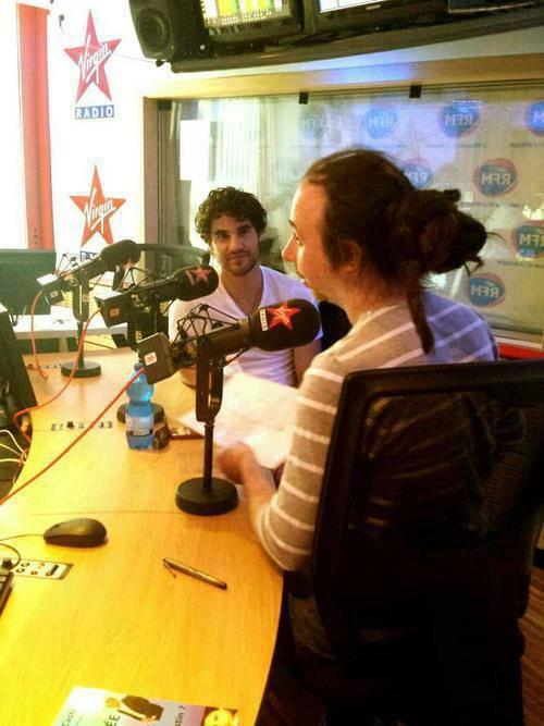 INTERVIEW DE DARREN DANS « LE LAB » SUR VIRGIN RADIO