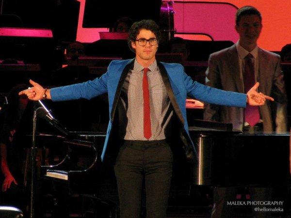Darren au Hollywood Bowl Opening Night Gala