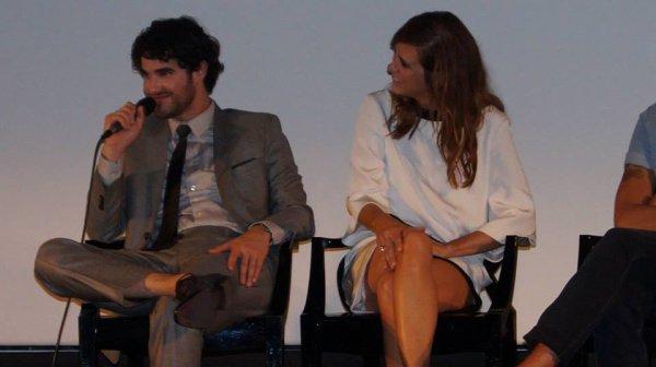 """Darren et Kristen à l'avant première de """"Imogene"""" au Champs Elysée le 18 juin 2013"""
