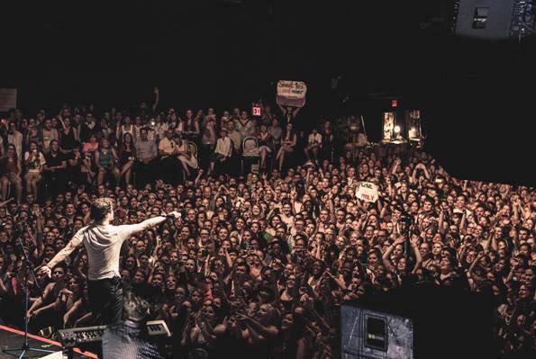 ListenUpTour 27/06/13 concert à Roseland Ballroom à NY photos coup de coeur <3