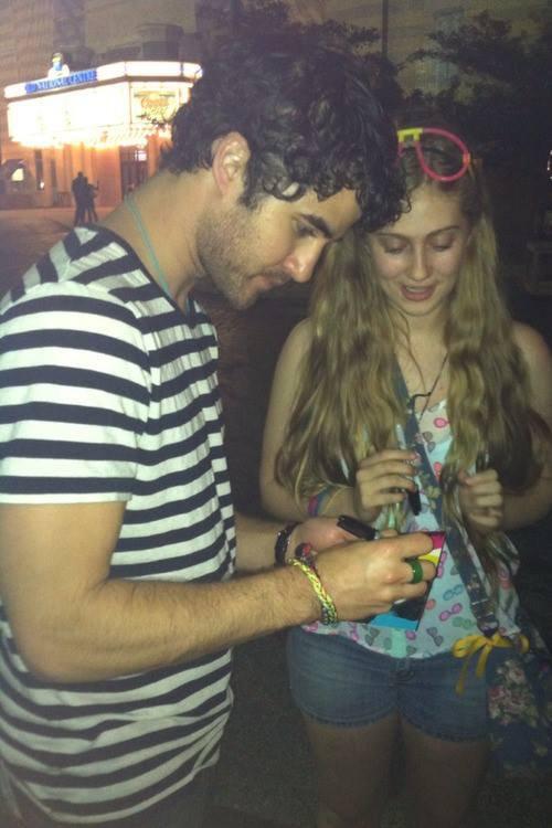 Darren et ses fans