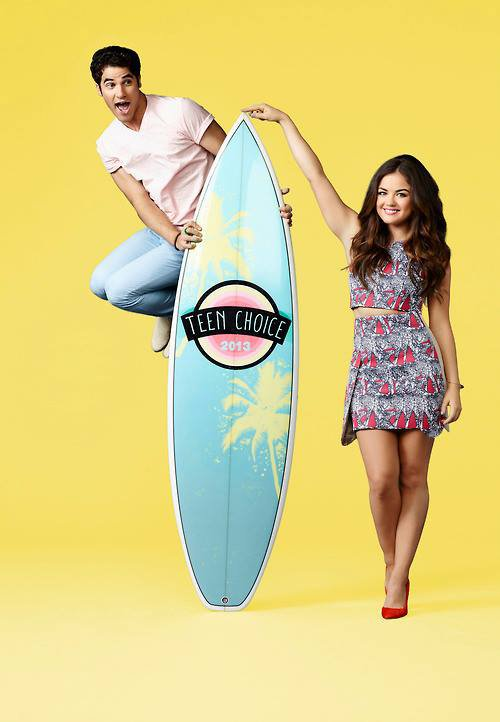 Photo promotionnelle pour les Teen Choice Awards 2013