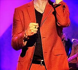 Tenue de Darren lors de sa tournée