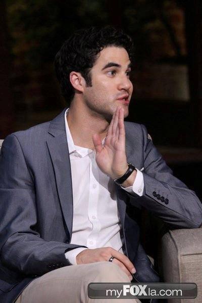"""Darren et Lucy Hale était à l'émissions """"Good Day LA"""" le 08 aoùut 2013"""