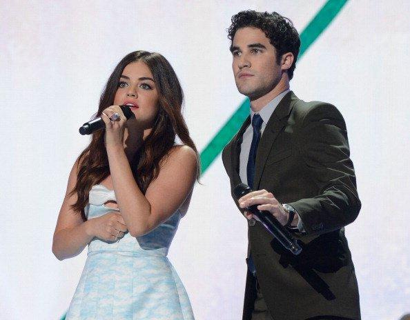 Darren et Lucy au Teen Choice Awards 2013