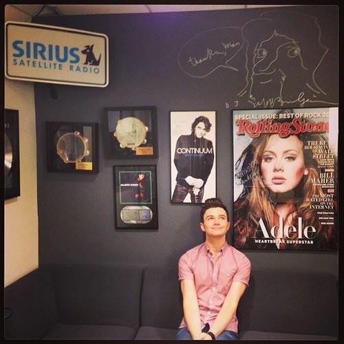 Chris en promo sur Sirius XM Studios pour son livre TLOS2