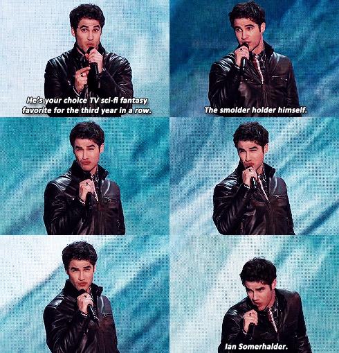 Darren et Ian Somerhalder au Teen Choice Awards 2013
