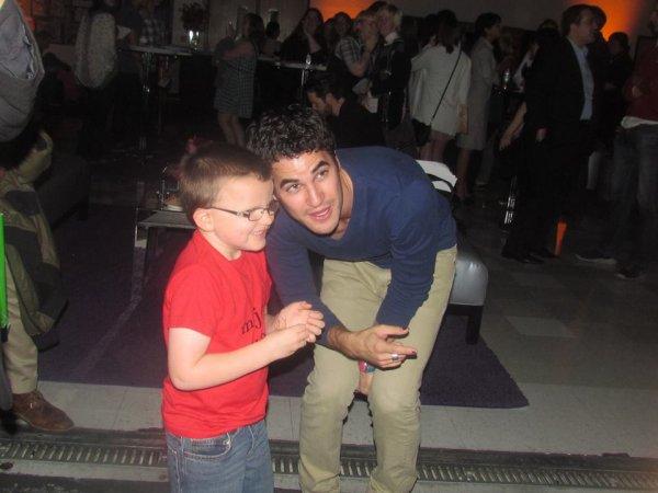 Darren et les enfant