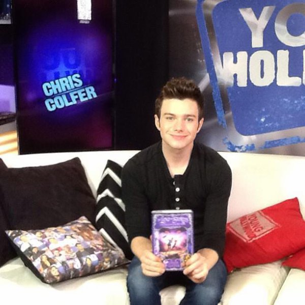 Chris Colfer promo TLOS2 - Young Hollywood