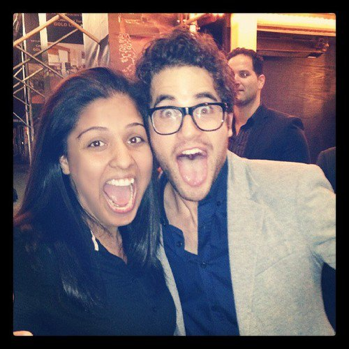 """My face is always funny"" - Darren Criss"