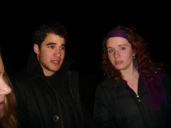 Darren Criss et son ex petite amie Julia Albain