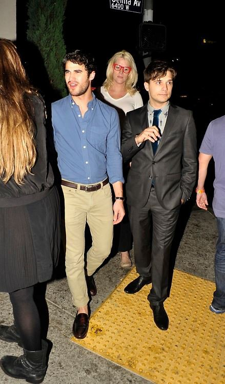 "Darren a la Premiere de  ""Thanks for Sharing"" le 16/09/2013"