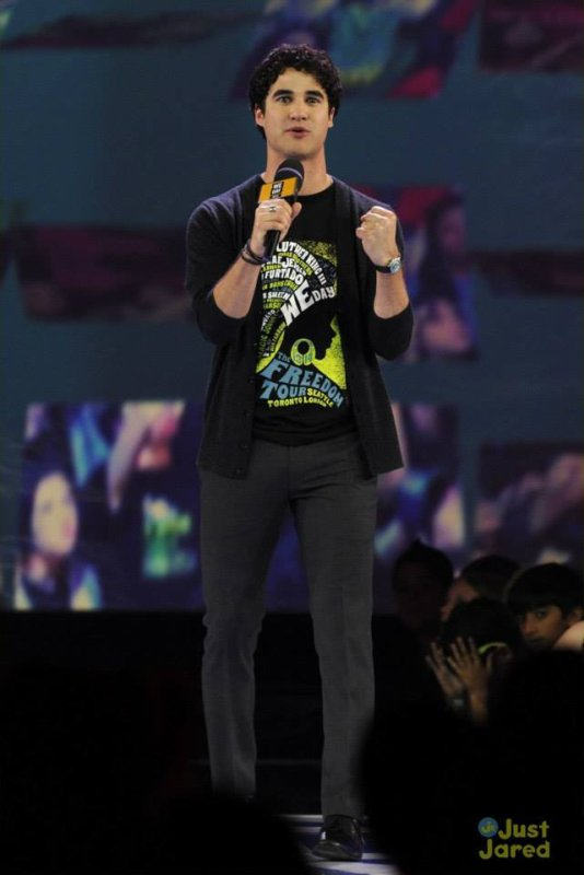 Darren au We Day à Toronto le 20/09/2013