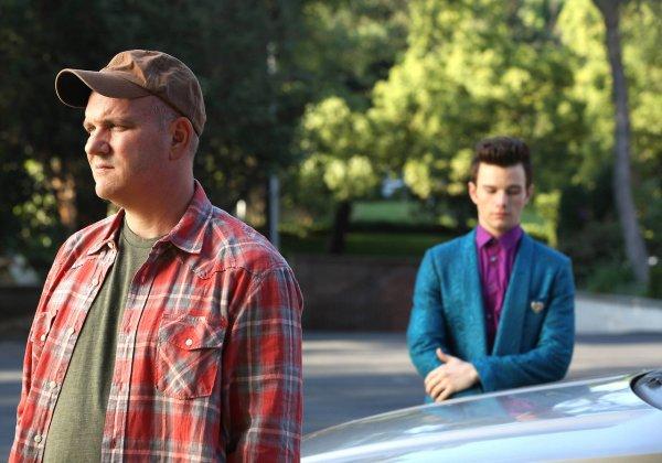 Glee 5x1 Kurt et Burt