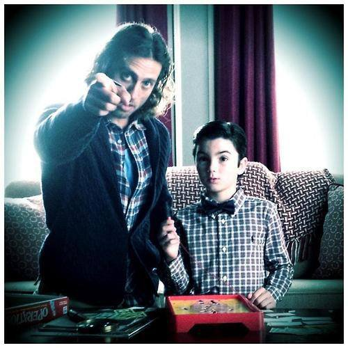 Petit Blaine et petit Cooper