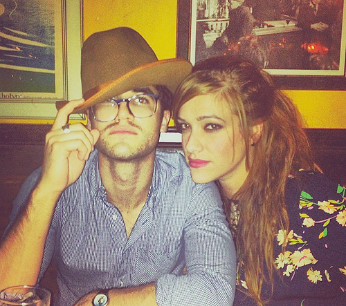 Nouvelle photo de Darren et Mia