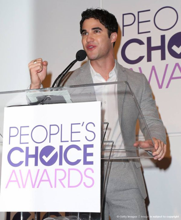 Darren à la Conférence des People's Choice Awards 2014 le 05/11/2013