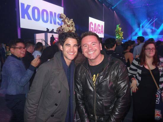 Darren au ArtRave - Concert de lancement du nouvel Album de Lady Gaga