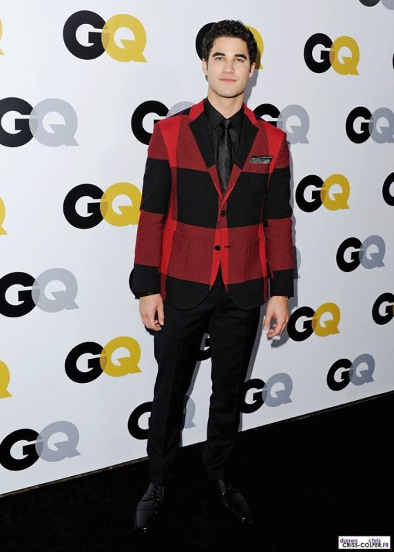 Darren au GQ Men Of The Year Party le 12/11/2013