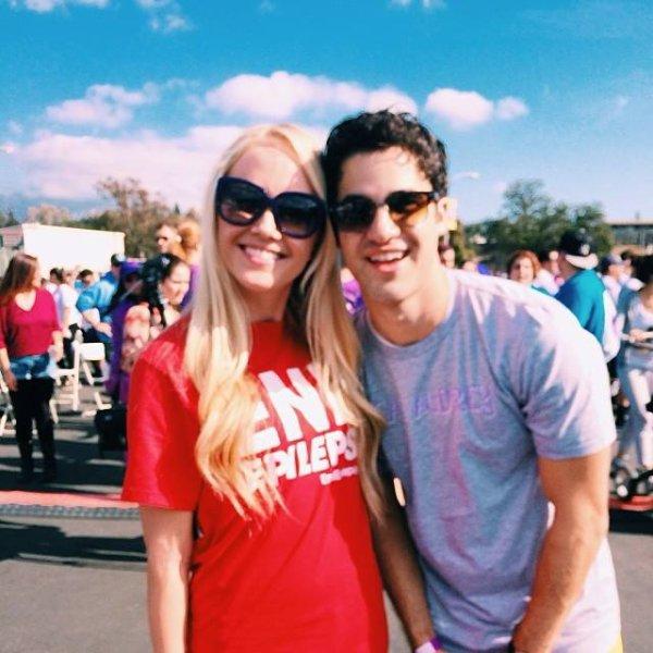 """Darren soutient """"Walk To End Epilepsy"""" ( marche de lutte contre l'épilepsie)"""