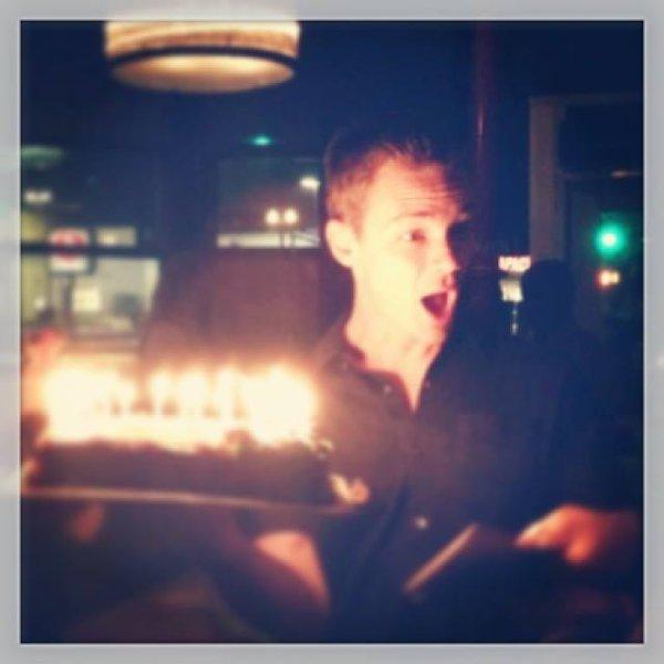 Chris souhaitant un joyeux anniv' a will ur instagram