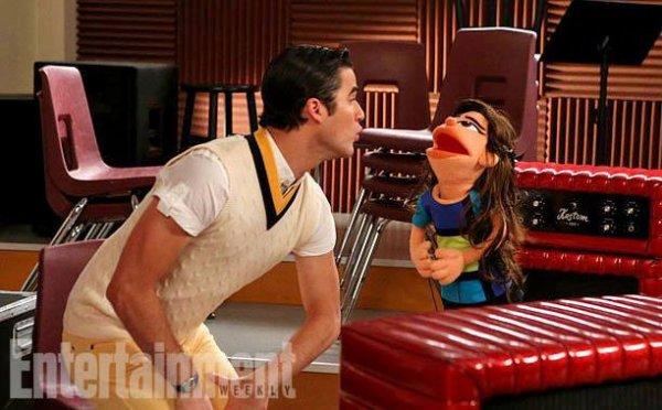 "Glee - ""Puppet Master"" 5x07"