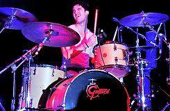 Darren à la batterie