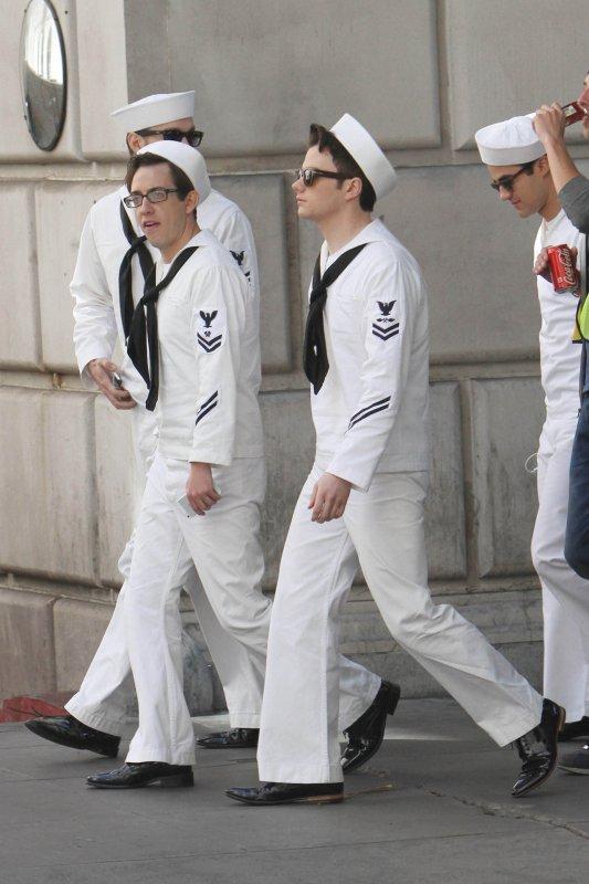 Sur le tournage de Glee