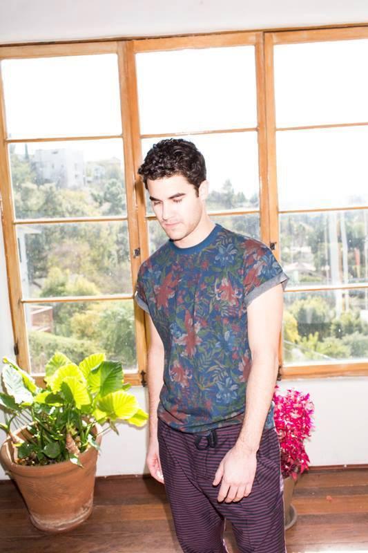 Darren photoshoots pour INDIE Magazine Coup de coeur <3