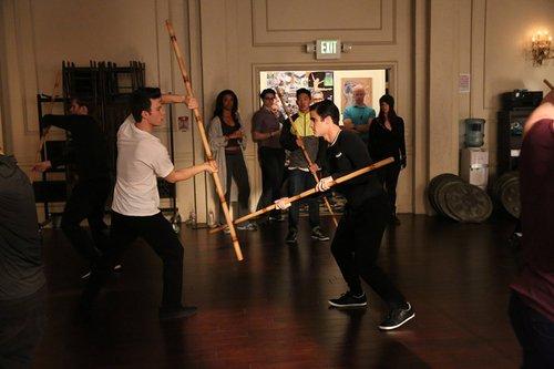 Darren et Chris en repétition