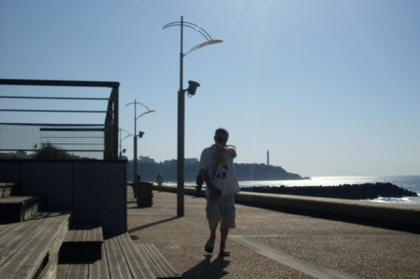 """Anglet Pays Basque et normal une pause baignade à la plage """"Chambre d'amour"""" la bien  nommée"""